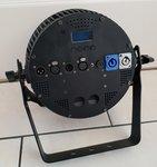 TRS 12x 12W RGBWAUV 6-in-1 LED Flat Par