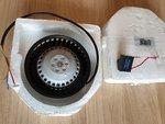 Showtec LED Aircone replacement fan (SPTE1609)