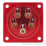 PCE CEE 16A 400V 5P Male socket IP44