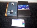 Sony BCT-94HDL HDCAM digital casette 94 minutes_