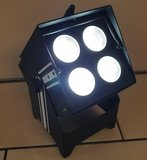 Akku LED Uplighter 4x 15W RGBWA+UV wireless DMX_
