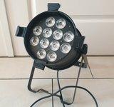 Light Inc. LED Par 64 HEX 12x 12W 6-in-1 RGBWA+UV Black_