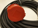 TRS 16A 400V powercable CEE 5P. M/F 33M 5G1.5_