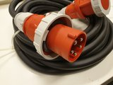 TRS 63A 400V Powercable CEE 5P. M/F 5G10 15M_