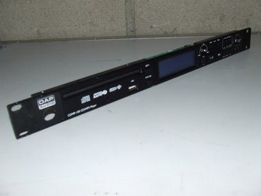 CDMP-150 front panel incl. display, USB and front PCB