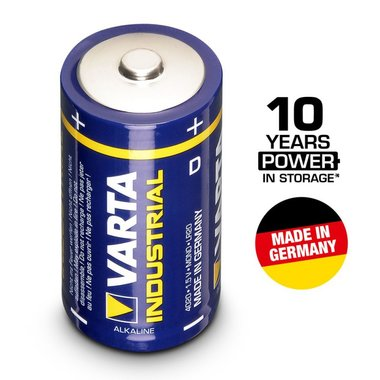Varta industrial 1.5V LR20 Mono D battery