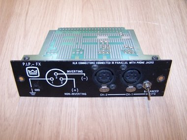 Crown P.I.P.-FX (programmable Input Processor) input card for Macrotech series