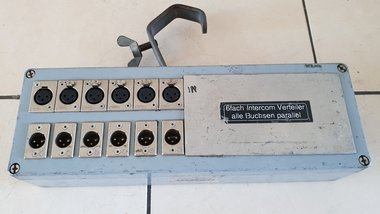 PRG 6-way intercom distributor parallel