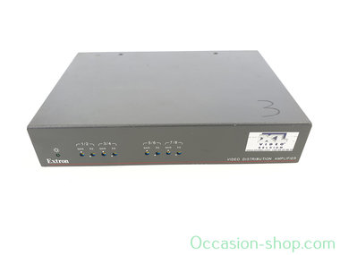 Extron DA 8V/4V Dual EQ 8 Output or Dual 4 Output Composite Video Distribution Amplifier with Gain and EQ Controls