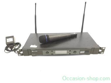 Dap ER-216B dual reveiver + 1x EM-16 handheld vocal microphone, 614-638 mHz