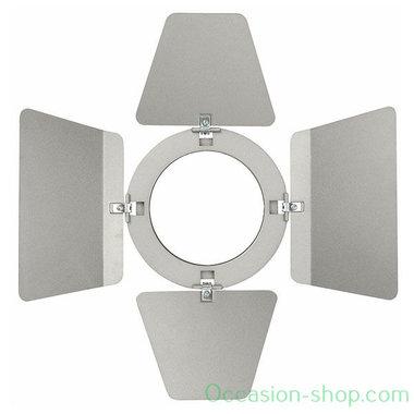 Showtec Barndoor silver for LED Compact Studio Beam