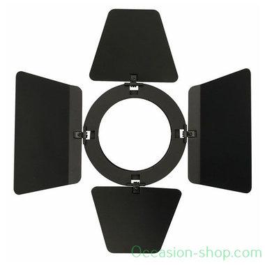 Showtec Barndoor black for LED Compact Studio Beam