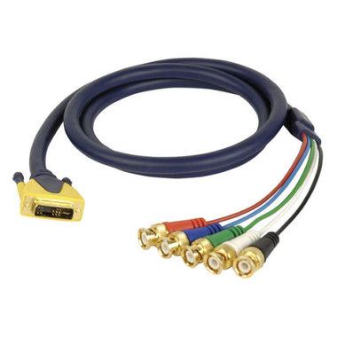DMT FV32 - DVI-i  5x BNC/M RGBHV video cable 3.0M