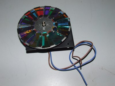 Showtec Starzone Aquatic color wheel incl. motor and bracket