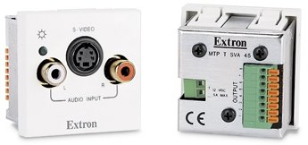 Extron MTP T SVA 45 MTP Twisted Pair Transmitter for S-Video and Audio - 45 mm Mount Version
