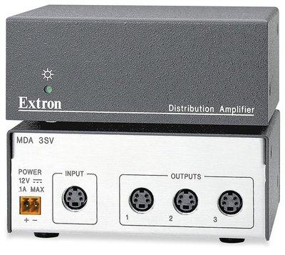 Extron MDA 3SV Three Output S-Video Distribution Amplifier