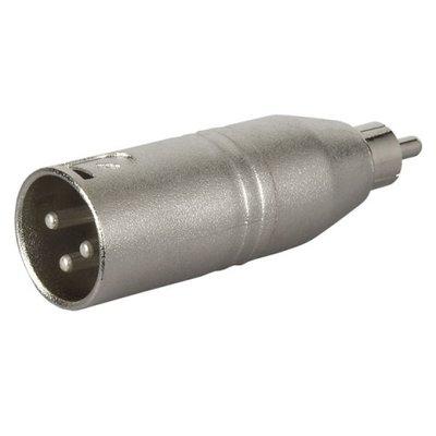 DAP FLA32 - XLR Male 3p. > RCA Male audio adapter