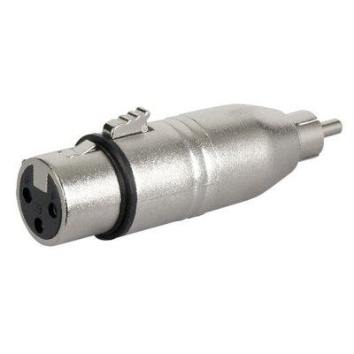 DAP-Audio FLA31 - XLR F. 3p. > RCA M. adapter
