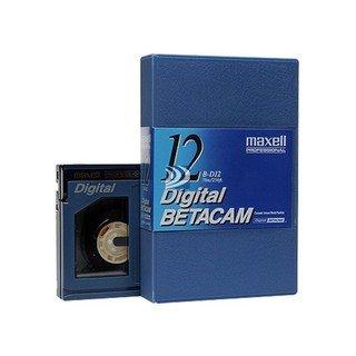 Maxell B-D12 Digital Betacam Component Digital Videocassette (Metal Tape)