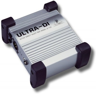 Behringer Ultra-DI DI100 active direct inject box