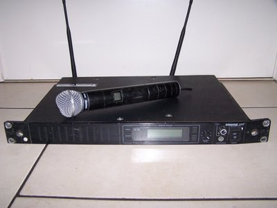 Shure U4S single wireless microphone system with SM58 handheld transmitter 782-810 MHz