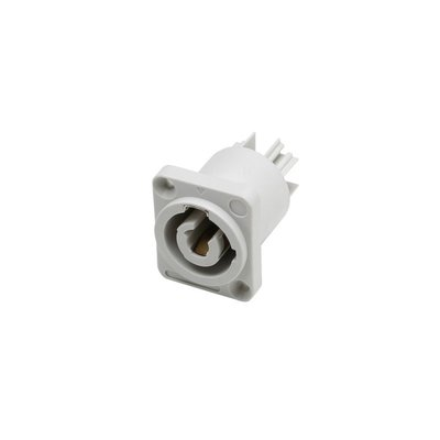 TRS Powercon Grey power-out chassis connector