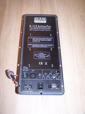 DAP K-112A Amplifier module incl. backplate