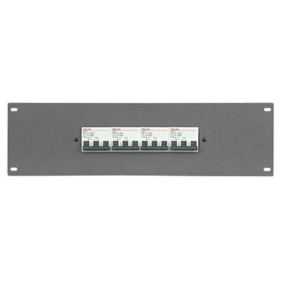 "SHOWTEC PDP-F4323 19"" Powerdistribution Panel with 4 x 32A MCB 3 pole"