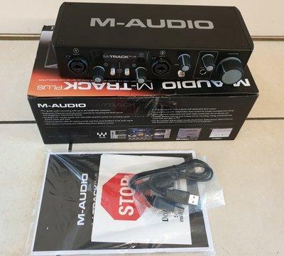 M-audio M-Track Plus II 2-channel USB audio interface