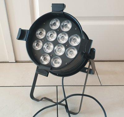 Light Inc. LED Par 64 HEX 12x 12W 6-in-1 RGBWA+UV Black