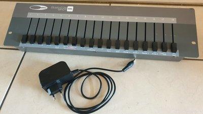 Showtec Easy 18 DMX fader desk light controller