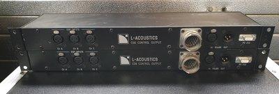 L'Acoustics CO6 control output patch panel