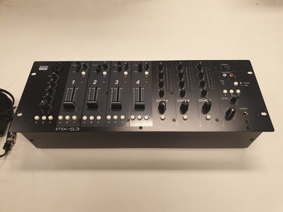"IMIX-5.3 5 Channel 4U install mixer, 3 zones, 19"" 4U"