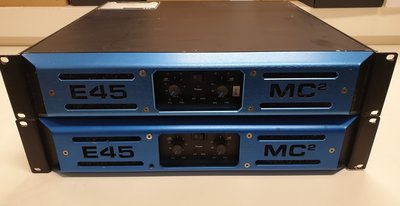 MC2 audio E-45 lightweight, high-power switch mode amplifier