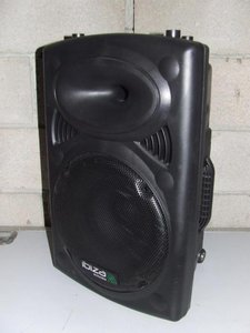 """Ibiza Port12VHF-BT 12"""" Mobile speaker system with Bluetooth and USB support"""