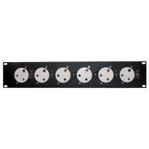 Showtec Powerpanel 6 19 Panel with 6 pieces BS-15 connector""