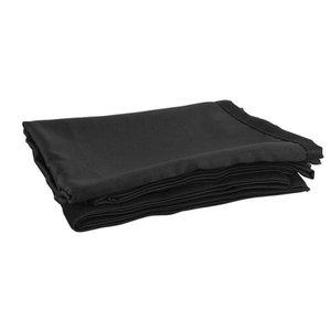 Showtec/Wentex P&D curtain - Medium Gloss 3M x 1,2M Black