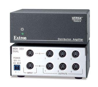Extron MDA 3SV Dual Three Output S-Video MDA - Mini Distribution Amplifier