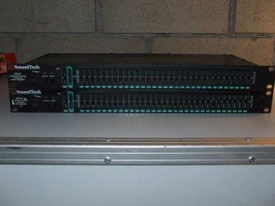"Soundtech Q310 mono 1/3 octave, 31 band Graphic Equalizer, 19"" 1U"