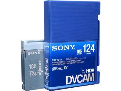 Sony PDV-124N DVCAM for HDV Tape 124 min.