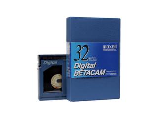Maxell B-D32 Digital Betacam Component Digital Videocassette (Metal Tape)