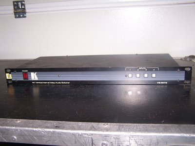 Kramer VS-401N 4x1 Vertical Interval Video / Audio Switcher