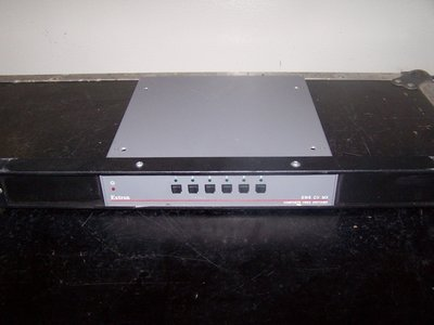 Extron SW6 CV MX Six Input, Dual Output Composite Video, Vertical Interval (NTSC/PAL/SECAM) Switcher