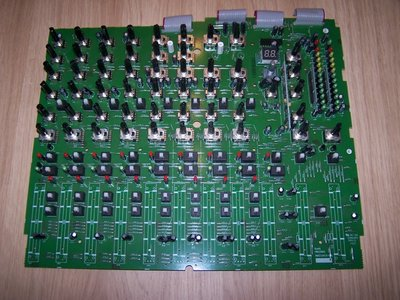 GIG-124CFX Main PCB