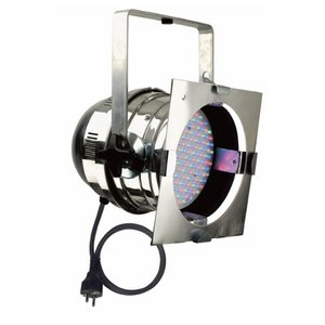 Showtec Par 64 Short, RGB LED Polished