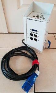Showtec Marquees White 9x1W RGB Polished DMX