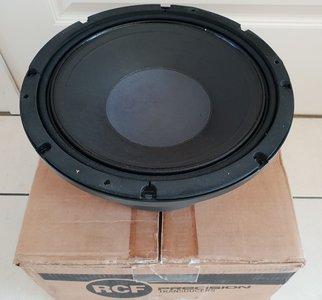 """RCF L12L750 12"""" Mid-Bass speaker 350W 8 Ohm"""