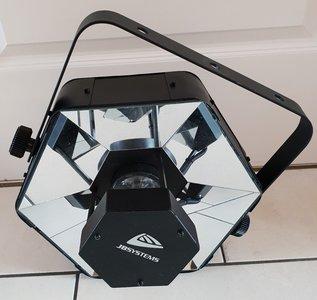 JB Systems Beam Twister 32W RGBW Hexacon LED-projector