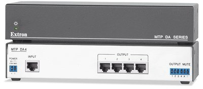 Extron MTP DA4 Four Output MTP Twisted Pair Distribution Amplifier