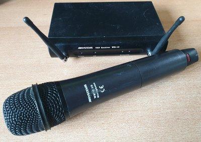 JB Systems WR-10 wireless handheld microphone set 863-865 MHz
